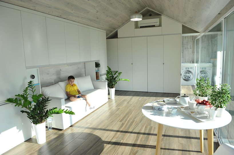 the 3D-printed 'haus' smart home is earthquake proof and move-in rea