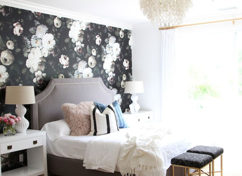 How to make a bedroom more glamorous on a budg