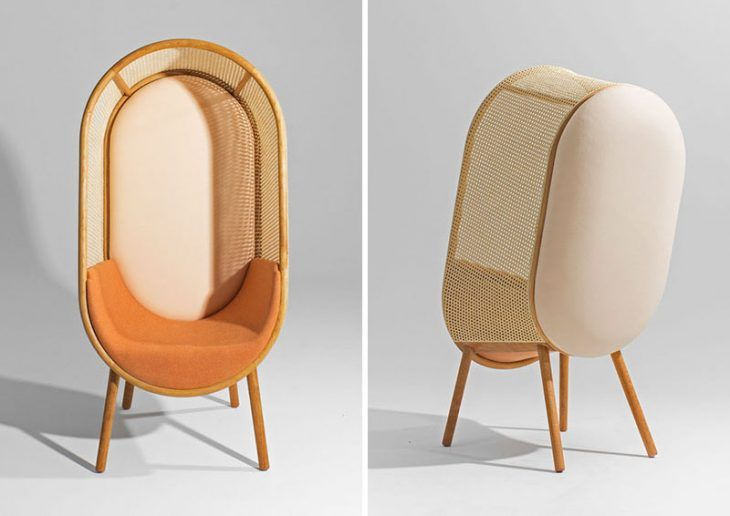 Cocoon Lounge Chair by Kevin Hviid And Martin Kechayas in 2020 .