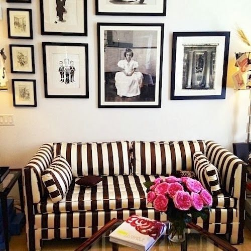 A Dramatic Classic Worth Considering: Black & White Upholstery .