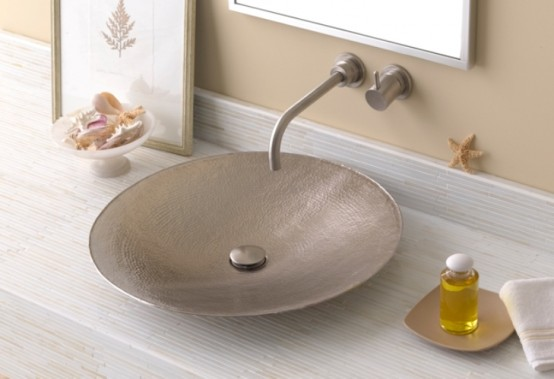 A Sink Made Of Leather - DigsDi
