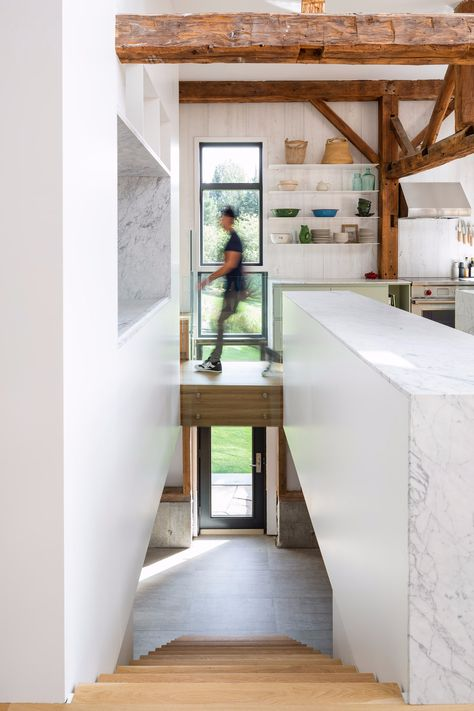 La Firme turns abandoned shed into Quebec home The Barn   Home .