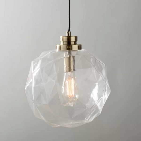 50 Beautiful Globe Pendant Lights: From Metal To Glass To Pap
