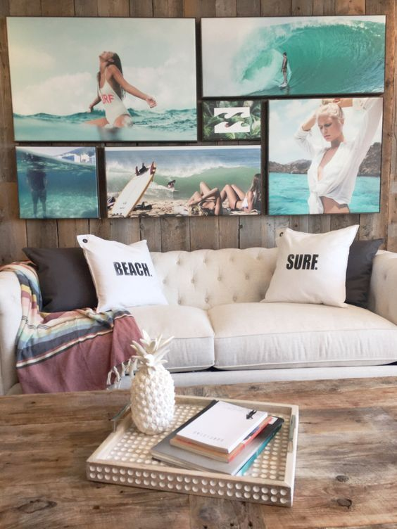 25 Ideas To Add Beach Galore To Your Home   Beach house decor .