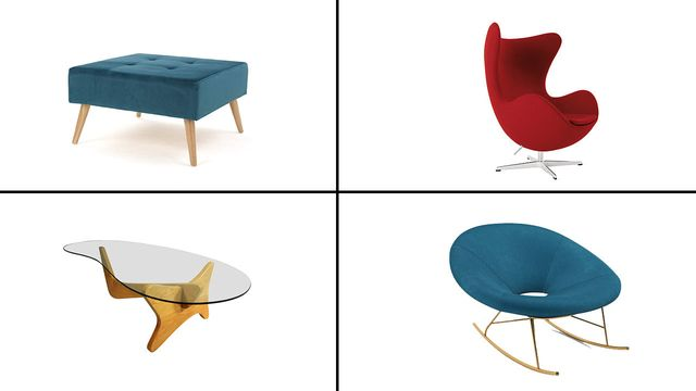 8 Mid-Century Modern Furniture Finds to Add Retro Style to Your .