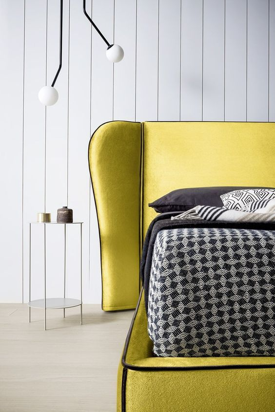 25 Easy Ways To Add Yellow To Your Bedroom   Yellow bedroom decor .
