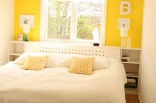 25 Easy Ways To Add Yellow To Your Bedroom   Yellow bedroom walls .
