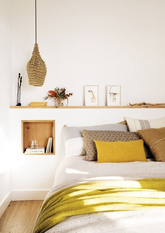 25 Easy Ways To Add Yellow To Your Bedroom - DigsDi