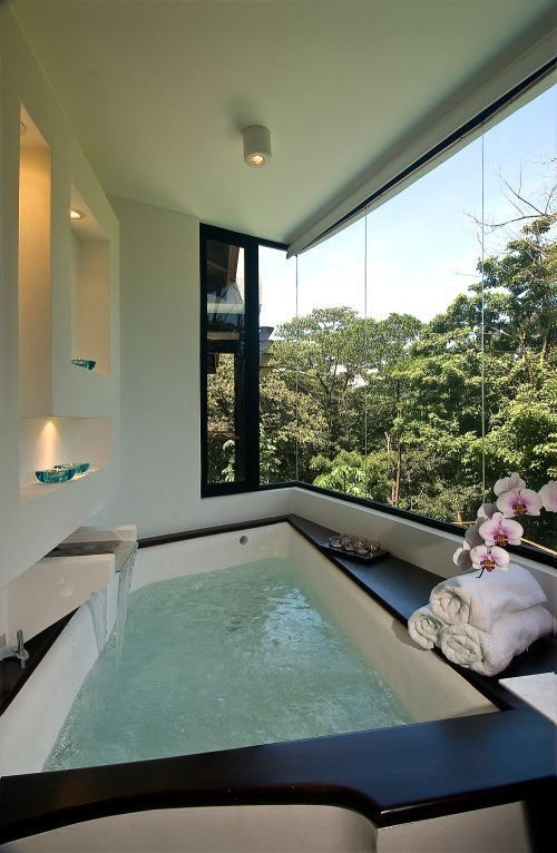 Adorable Bathroom Designs With View - DigsDigs   Dream house, My .