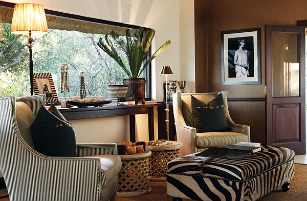 Casual yet sophisticated | African living rooms, African themed .