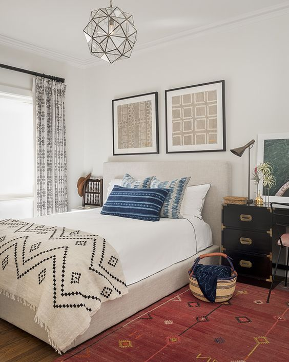 17 African Bedroom Decor Ideas To Get Inspiration | African home .
