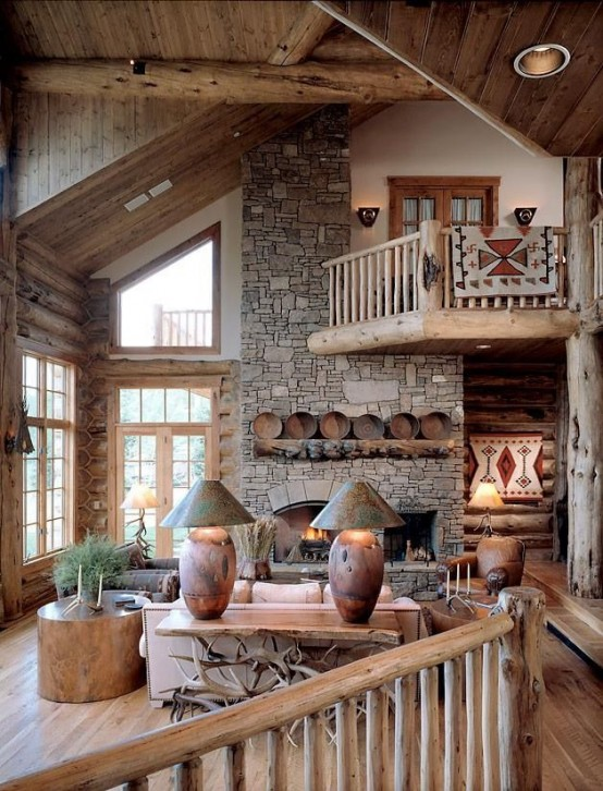 72 Airy And Cozy Rustic Living Room Designs - DigsDi
