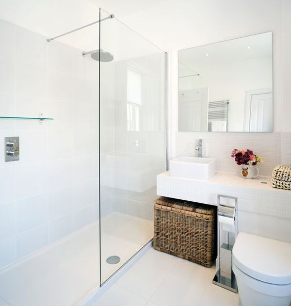 White Bathrooms Can Be Interesting Too – Fresh Design Ide