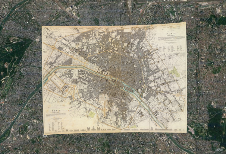 120 Ancient Maps Overlapped on Google Earth Reveal the Growth of .
