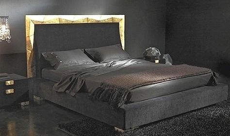 Black – a perfect color for the bedroom furniture no matter what .