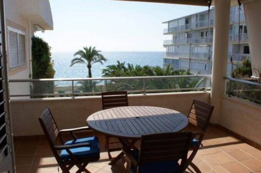 apartment Altea - Nice apartment with large balcony and sea view .