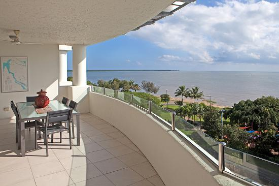 Large Balconies with views of the Esplanade or Coral Sea - Picture .