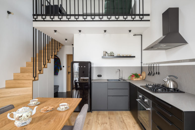 Contemporary Apartment With Quirky Touches - DigsDi