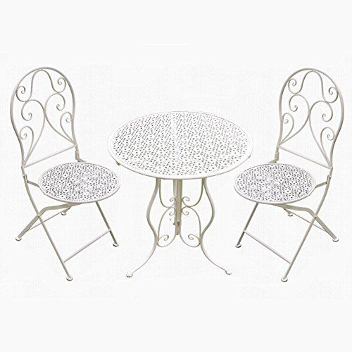 Perfect Furniture CSQ Garden Roof Courtyard Table and Chair Folded .