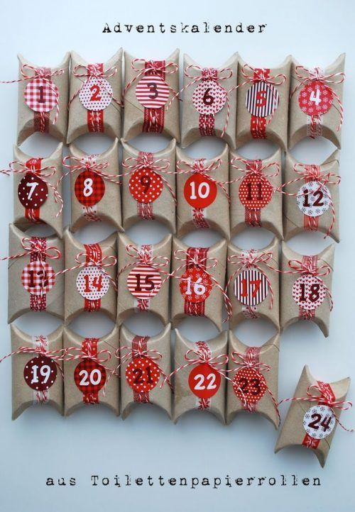 Toilet Paper Rolls Advent Calendar and 25 Homemade Advent .