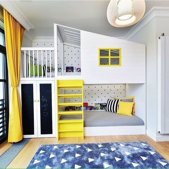 BUNK BEDS | Cool bedrooms for boys, Cool bunk beds, Bunk bed desig