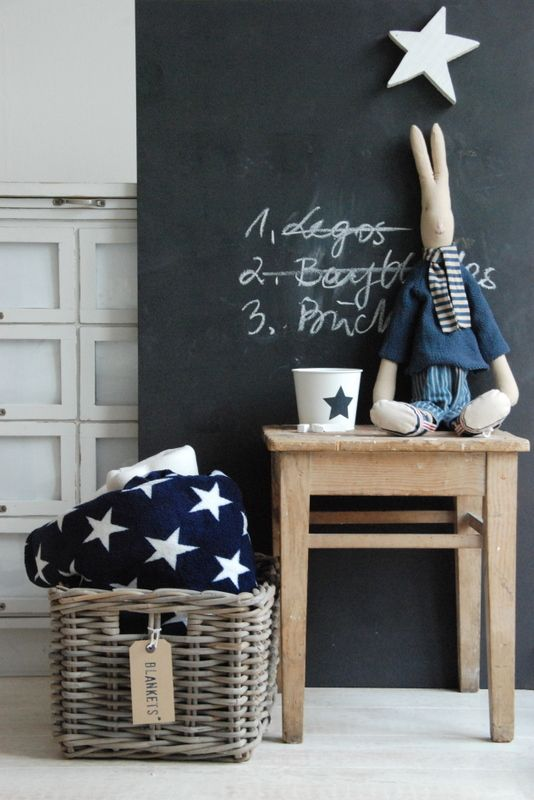 33 Awesome Chalkboard Décor Ideas For Kids' Rooms - DigsDi