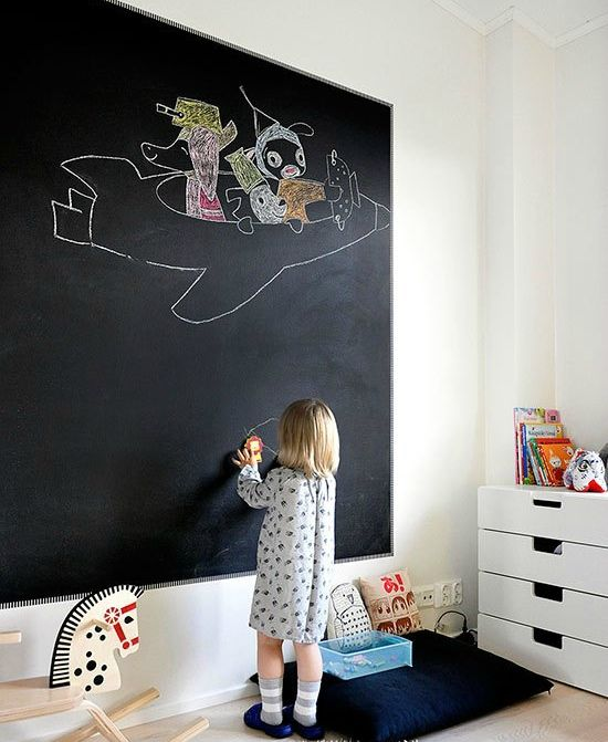 Interactive Walls for Kid Spaces | Homes.com | Kids room .