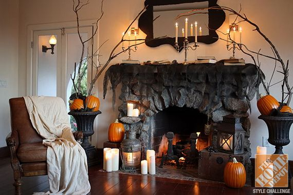50 Awesome Halloween Indoors and Outdoor Decorating Ideas | Simple .