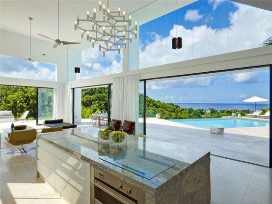 38 Awesome Kitchen Designs With A View   House, Luxury homes .