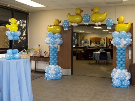 Party Favors Ideas: Baby Shower Balloons Decoratio