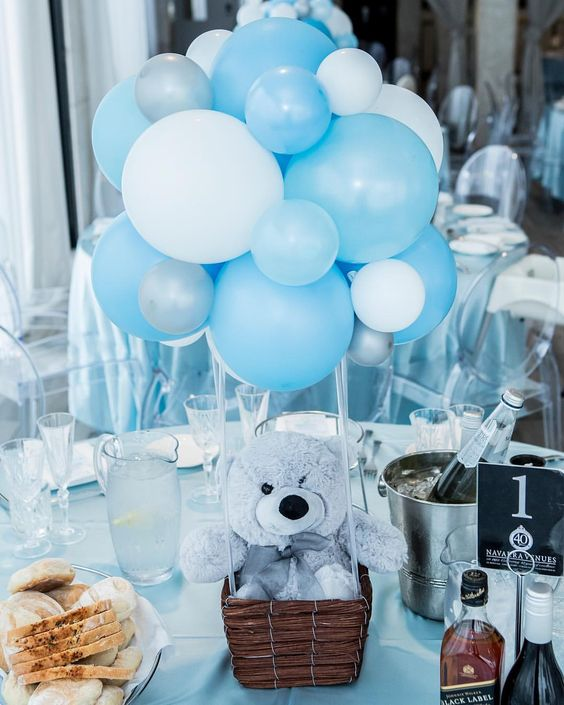 Baby Shower Balloons - An Easy & Cost Effective Way To Create A .