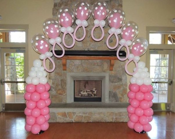 23 Cute Balloon Decorations For Baby Showers - Shelterne
