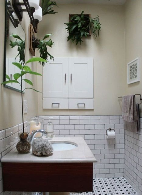 49 Bathroom Design Ideas With Plants And Flowers– Ideal For Spring .