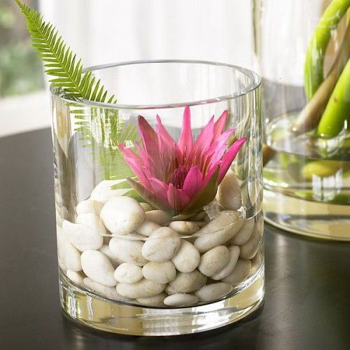 32 cool ideas to use pebbles to decorate your interior - buy .