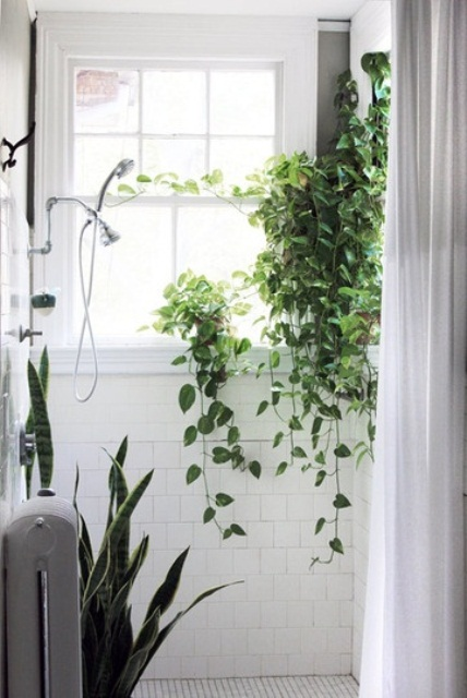 69 Greenery And Flower Decor Ideas For Bathrooms - DigsDi