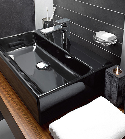 Cool Sink Design by Planit combines storage and washbas