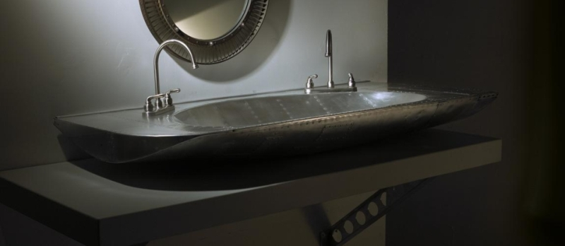 Wash up in style with these unique bathroom sin