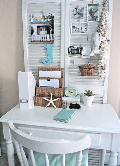 Coastal And Beach-Inspired Home Offices   ComfyDwelling.c