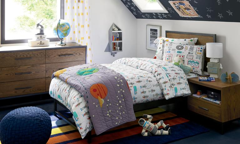 Boys Bedroom Inspiration   Crate and Barr