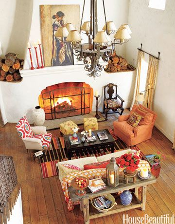 20 On-trend Colors to Decorate With This Fall | Bohemian style .