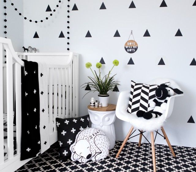Black & White For Newborns - More than just a funky print .