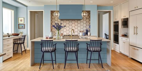 40 Blue Kitchen Ideas - Lovely Ways to Use Blue Cabinets and Decor .