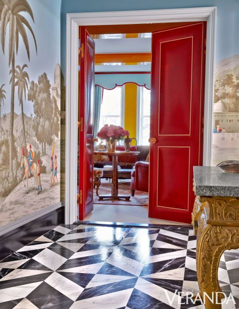 HOUSE TOUR: Bold Color And Daring Patterns Mix Masterfully In This .