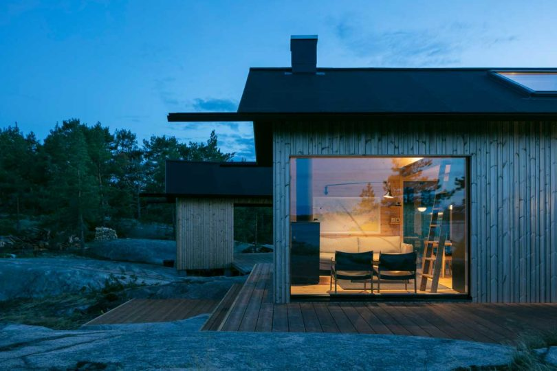 Project Ö Is a Self-Sustaining Cabin in the Finnish Archipela