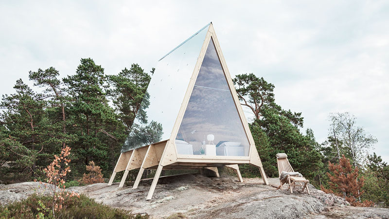 The Nolla Cabin Becomes A Small Home On An Island In Finla