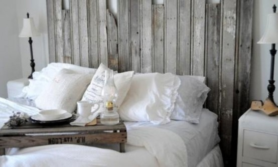 27 Calm And Relaxed Whitewashed Headboards - DigsDi