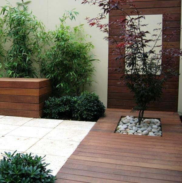 45 Calm Japanese-Inspired Courtyard Ideas (With images)   Small .