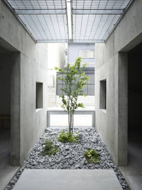 45 Calm Japanese-Inspired Courtyard Ideas (With images .