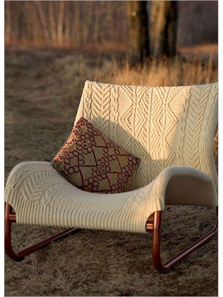 Sweet and Lowdown Chair Knitting Pattern Download   Patterned .