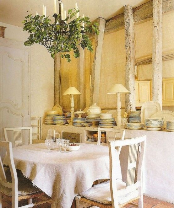 33 Charming And Beautiful Provence Dining Spac